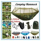 Dual Person Outdoor Travel Camping Hanging Hammock Bed Wi Mosquito Net Set F T