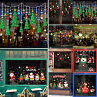 Christmas Xmas Removable Window Wall Home Shop Stickers Decals Festival Decor