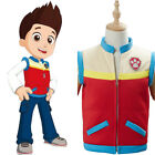 PAW Patrol Captain Ryder Cosplay Costume Kid's Children Vest Waistcoat Only Gift