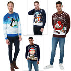 Threadbare Adults Novelty Joke Christmas Jumpers Festive Funny Knitted Sweaters
