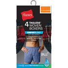 Hanes Men's Comfort Blend 4-Pack Woven Boxers