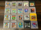 Lot of Nintendo GameBoy Video Games Pick a Title ***CLEANED,TESTED,AUTHENTIC***