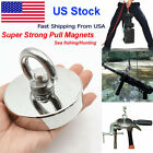 Super Strong Round Neodymium Pull Salvage Magnet Magnetic Fishing Ring Magnet