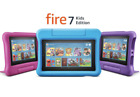 Amazon Fire 7 Kids Edition Tablet 16GB (9th Gen) - Blue Pink Purple - COLORS