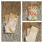 Toddler Girl Cat  Jack Pink Bear Multi-Color White Sparkles Stretchy Pants- NEW