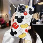 Cartoon For iPhone 12 11 Pro Max XS 8 Mickey Armor Case Shockproof Leather Cover