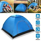 3-4 Person Pop-Up Outdoor Tent Automatic Camping Backpacking Tents Waterproof