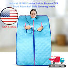 Portable Infrared Home Spa | One Person Sauna for Detox & Weight Loss Blanket