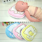 Infant Baby Memory Foam Pillow / Newborn Prevent Flat Head Support Soft Cotton