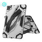 Metallic Kickstand Handstrap Tablet Case For Apple iPad Air 4 2020 10.9 Inch