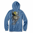 Primitive Men's Wolverine Long Sleeve Pullover Hoodie Columbia Blue Clothing ...