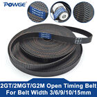 GT2/2GT open Synchronous Timing Belt Width 3/6/9/15mm Small Backlash 3D Printer