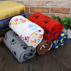 Dog Blankets Washable Soft Pet Cat Dog Bed Mat Fleece Cushion Sleeping Thrown