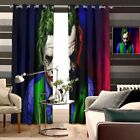 The Joker 2PCS Thermal Window Curtain Panel Bedroom Living Room Curtain Drapes