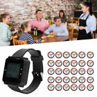 SU-C04 Wireless Paging Watch Coaster Service Calling System 1 Watch 30 Pagers