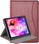 10.2 iPad 8th Gen 7th Gen Case Leather Protection Flip Folio Cover Card Holder