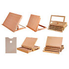 Adjustable Wooden Beech Table Top Easel Desk Box Painting Sketching Supplies