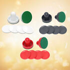 Air Hockey Paddles and Pucks, Small Size for Kids Adult, Great Goal Handles