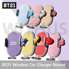 Baby BT21 Wireless Car Fast Charging Cell Phone Holder Mount Clip Air Purifier