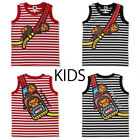 Внешний вид - A BATHNIG APE BAPE KIDS MILO SHOULDER PRINT TANK TOP 2colors Japan New
