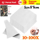 8x8cm Buckskin Jewelry Cleaning Polishing Cloth For Sterling Silver Gold Platinu