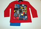 Children Pyjama Set nightclothes Boys Star Wars Red Blue Size 98 104 116 128 1