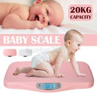 20KG Digital LCD Toddler Baby Scales Infant Pet Weight Measure Weighing Scales