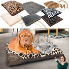 Large & Extra Large Filled Pet Bed Cat Any Dogs Washable Zipped Mattress Cushion