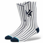 Stance Men's MLB New York Yankees Home 2 Socks White Footwear Uncommon Thread...