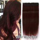 AAA 100G Thick One Piece Clip in Remy Human Hair Extensions 3/4 Full Head Blonde