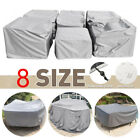 Outdoor Furniture Covers Waterproof Patio Table Sofa Chair  Dust Proof Cover