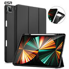 ESR Trifold Case for iPad Pro 12.9 5th 2021, Flexible Back with Pencil Holder