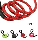 6FT Large Dog Leash Rope Leads Heavy Duty Reflective for Pets Up To 150 lbs