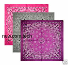 "Style 2 Paisley Bandana Neck Scarf 21"" Colour Choice"