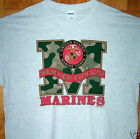 "New Grey T Shirt "" US MARINES "" Sz SM - 5XL   Semper Fi"