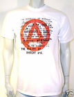 punk anarchy seditionaries type S-4xl white/black tees