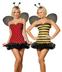 Reversible Bee & Lady Bug Costume, Dreamgirl 5248, 7 Piece, Size XS, S, M, L