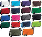 BAGBASE CLASSIC MESSENGER BAG 12 GREAT COLOURS BNWT