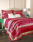 6 PCS FUSCHIA PINK BEDSPREAD DUVET SET DOUBLE /KING/ SK