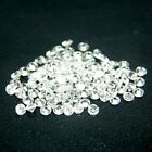 Round 1.25mm AA Cubic Zirconia White CZ Stone Lot