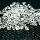 Round 2mm AA Cubic Zirconia White CZ Stone Lot