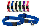Lupine Cat Collar with or w/o bell red blue black green