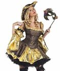 Black Marie Antoinette Costume, Be Wicked BW1190, Adult 4 Piece, Size S/M M/L