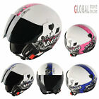 NITRO NGJP ROMANCE Motorcycle Motorbike Open Face Helmet XS-XL Women Men