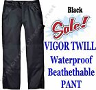 Dickies PANTS Vigor Twill WATERPROOF BREATHABLE PANT INSULATED LINED TP841 Black