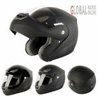 NITRO/GMAC AXIS Flip Front Up Motorbike Motorcycle Helmet Black Pinlock Ready