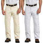 Dickies PANTS relaxed fit Double Knee Utility Painter pants 2053 White, Natural