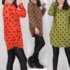 Lovely Lady funky new chic autumn polka dot outwear sweater N235 4 color S M L