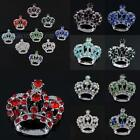 CZECH CZ CRYSTAL ROYAL IMPERIAL CROWN PENDANT BEADS CHARMS FINDINGS FOR NECKLACE