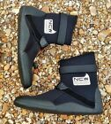 watersports & surfing - 4mm thermal lined warm wetsuit boots - all sizes avail.